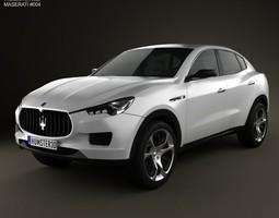 Maserati Kubang 2013 3D Model