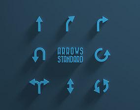 3D model Arrows Standard