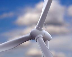 3D Wind Turbine environment