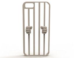 iphone 6 prison case 3d printable model