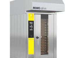 3D rack oven MIWE roll in