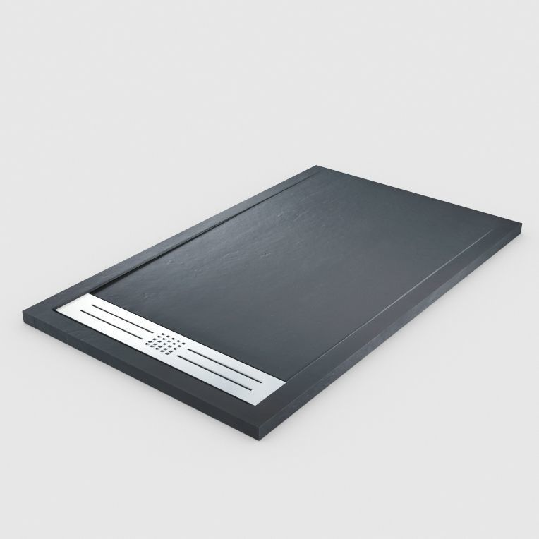 black stone plate 3d model cgtrader