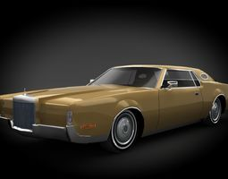 Lincoln Continental Mark IV 1972 3D mark