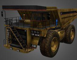 Dumper tip truck 3D model