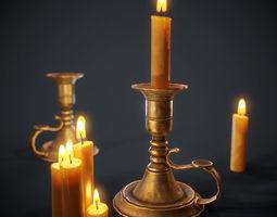 PBR Candlestick 3D model