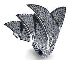 3D print model Ring Sidney opera jewelry