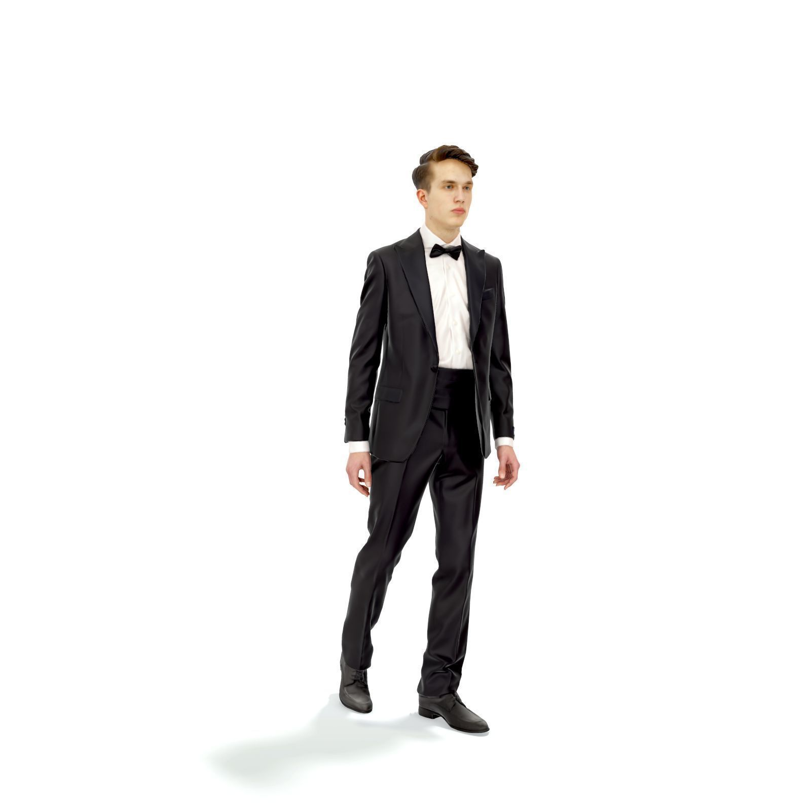 Elegant Man with Tuxedo Walking EMan0312-HD2-O06P01-S
