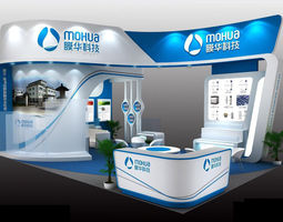 Mohua Exhibition Stall 3D Model