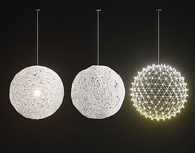 3D model Handmade Lighting set 01