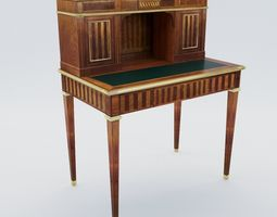 Small secretaire of Louis XVI - France - 19th 3D model