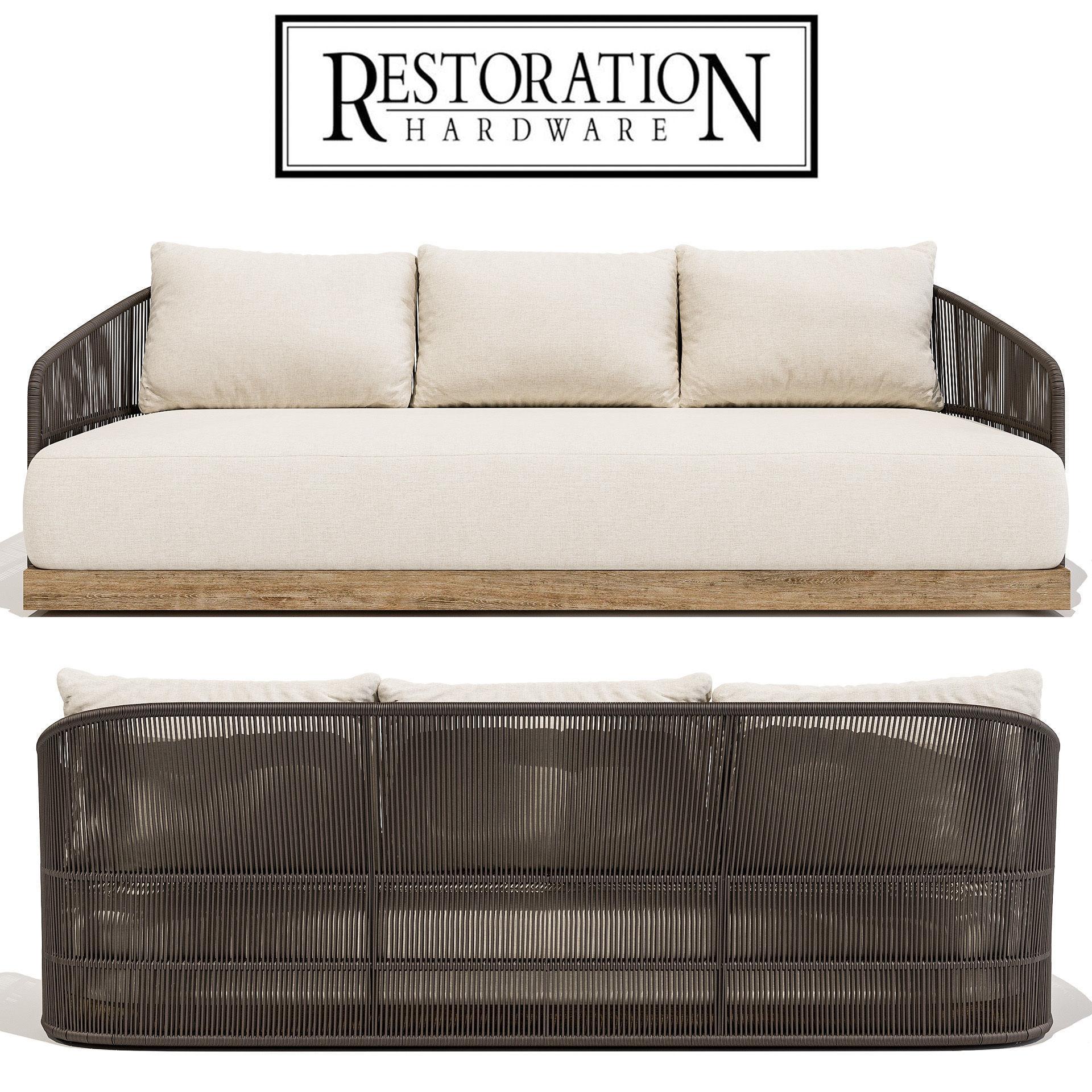 Restoration Hardware Havana Sofa 84 | 3D model