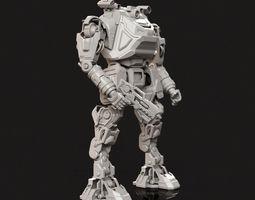toys 3D print model Robot Toy