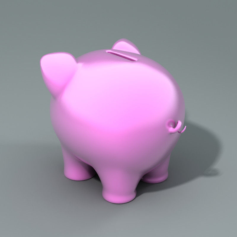 how to make a 3d piggy bank