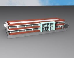 Charleston AMTrack Station 3D print model