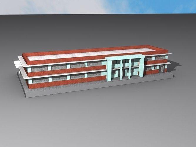 Charleston Amtrack Station 3d Model 3d Printable Obj Stl