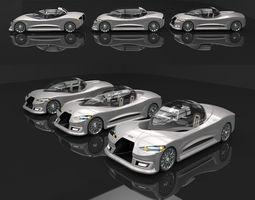 Eruca 3D model