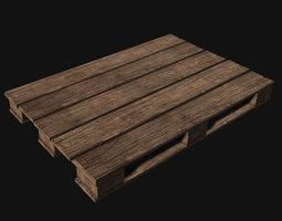 Prop WoodenPallet 3D Model