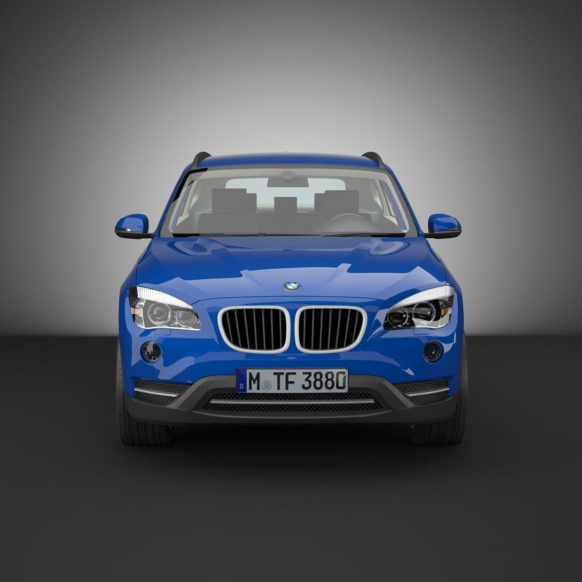 BMW X1 3D Model .max .obj .3ds .fbx
