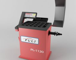Tire Balance machine Puli 3D Model