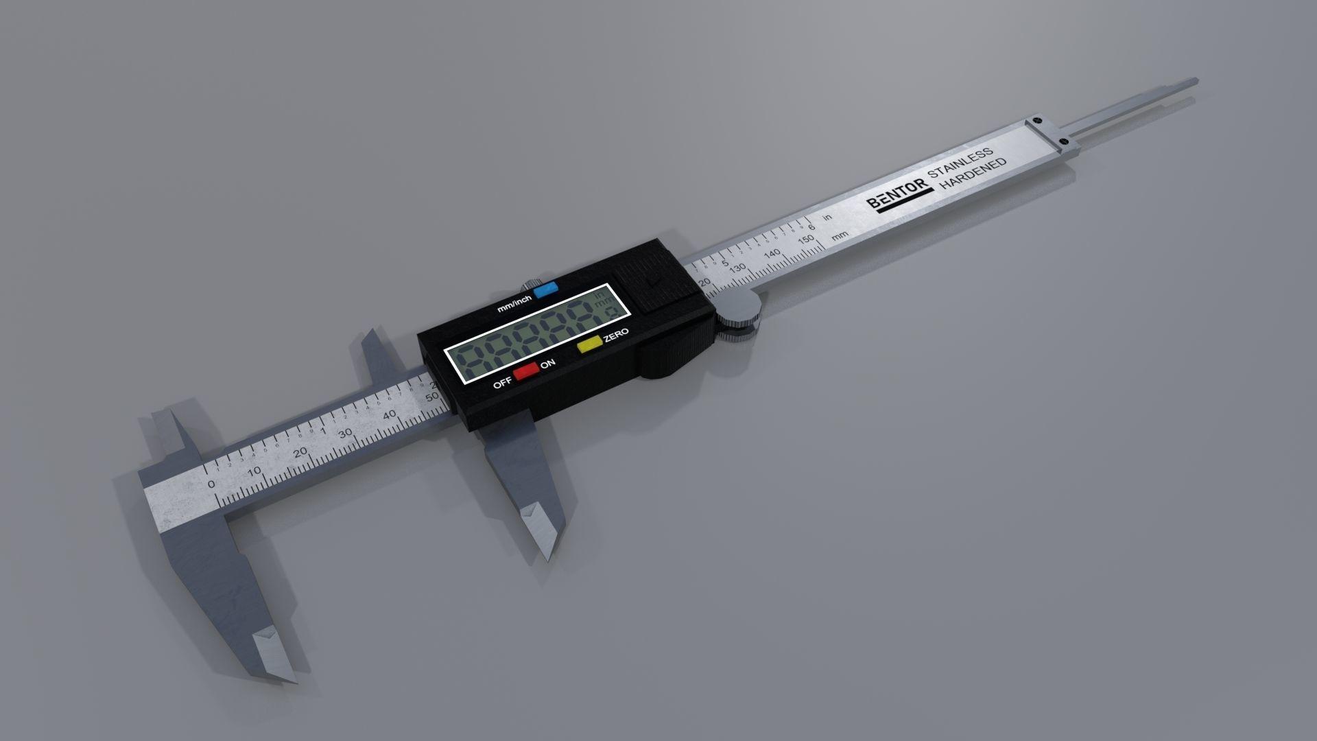 Digital caliper PBR