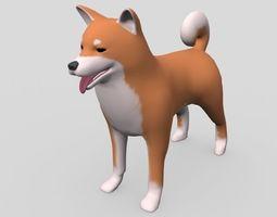 DOG -Shiba dogs 3D model