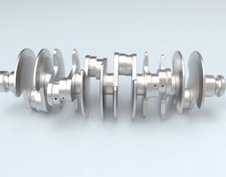 3D Printable Crankshaft