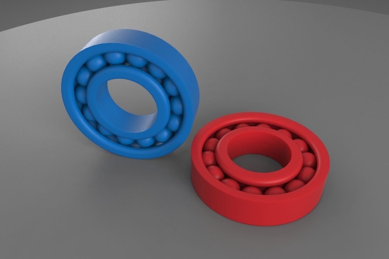 Best Buy Military Discount >> 3D printable Ball Bearing | CGTrader