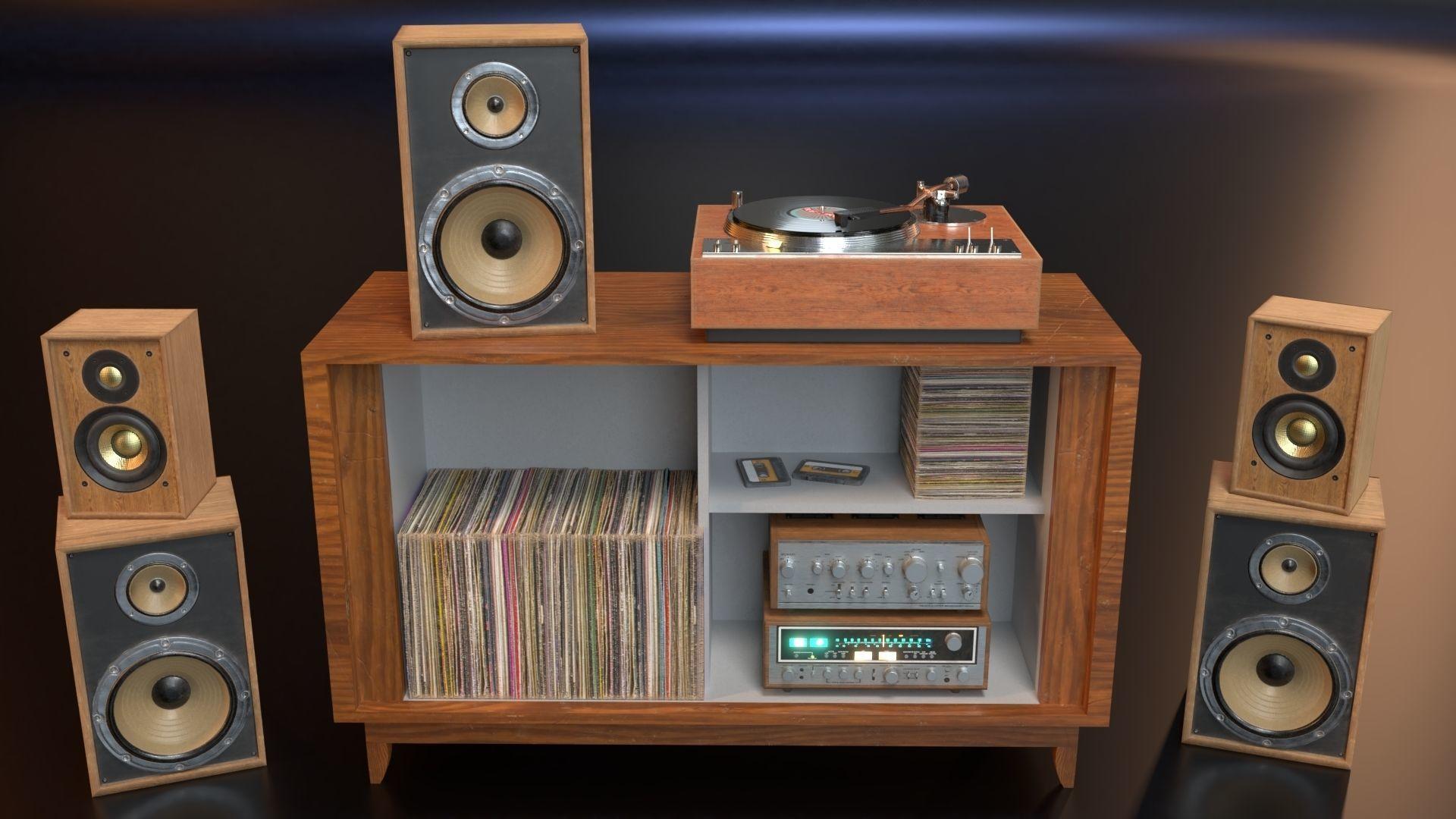 PBR Audio Equipment