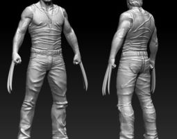 Wolverine hugh jackman Printable STL