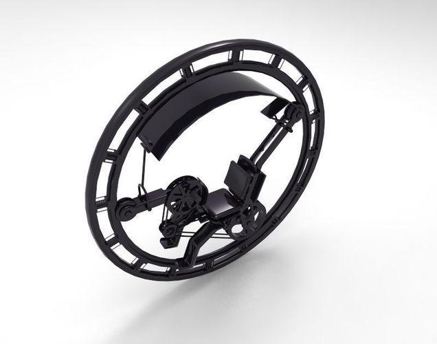 UniCycle Loop Wheel3D model