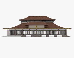 Mongolian Building 1 3D model