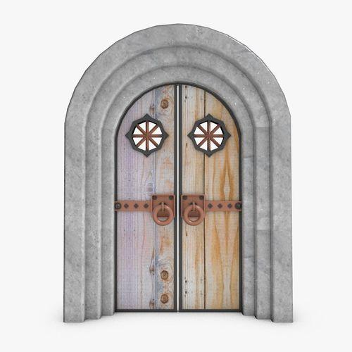 Medieval Front Doors: Medieval Doors 3D