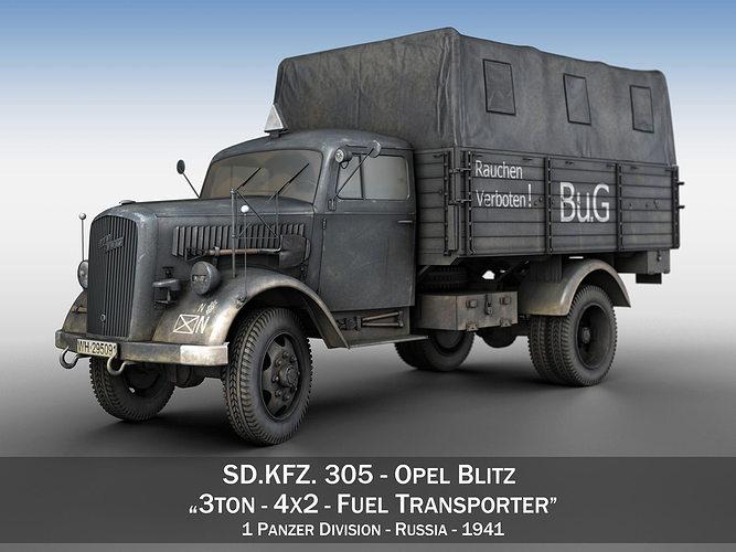 Opel Blitz 3ton - Fuel Transporter