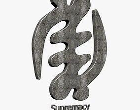 Supremacy of God Symbol 3D