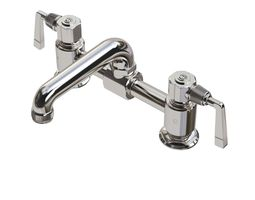 waterworks rw atlas faucet with lever handles 3d model