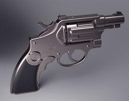 Pistol 3d printable highpoly model