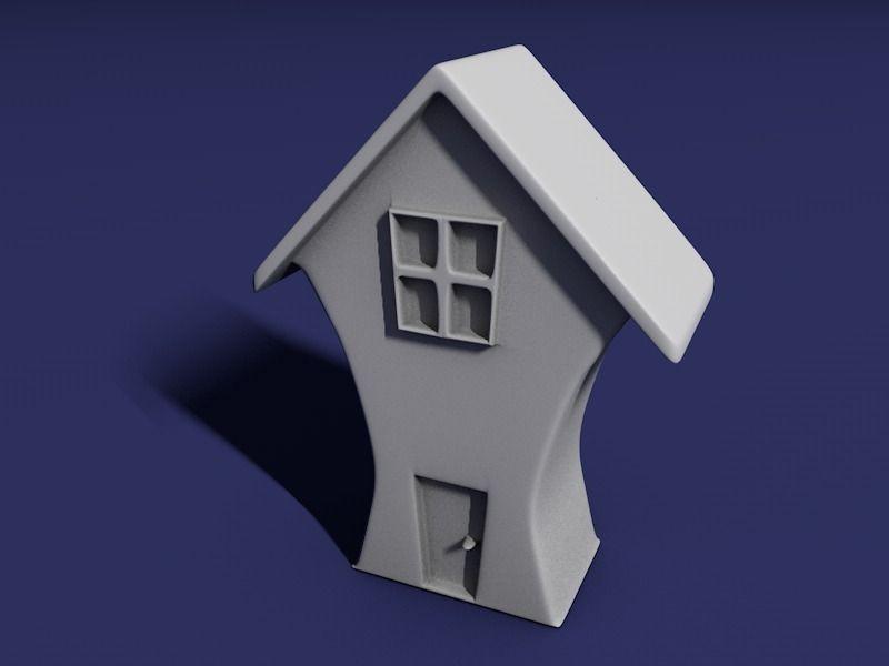 House 3d model free obj