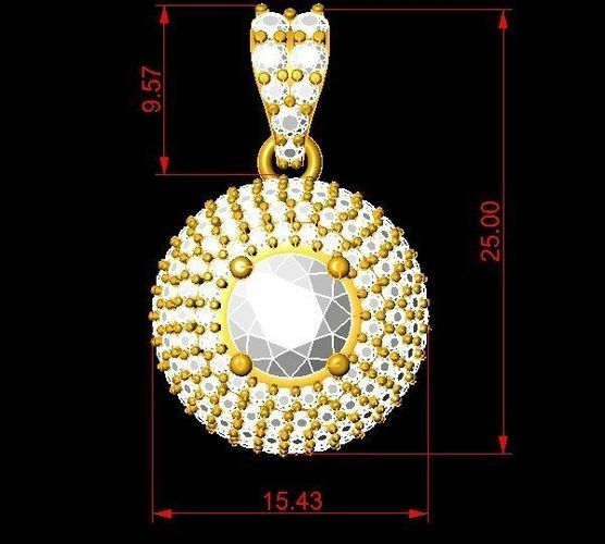3d printable model 349 diamond pendant for women 349 diamond pendant for women 3d model stl 6 mozeypictures Image collections