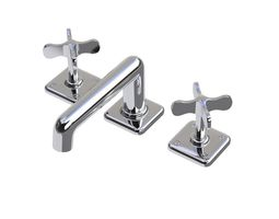 3d waterworks ludlow faucet with cross