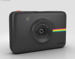 3D model Polaroid Snap Instant Digital Camera Black