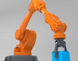 3D model animated Robotic Arm