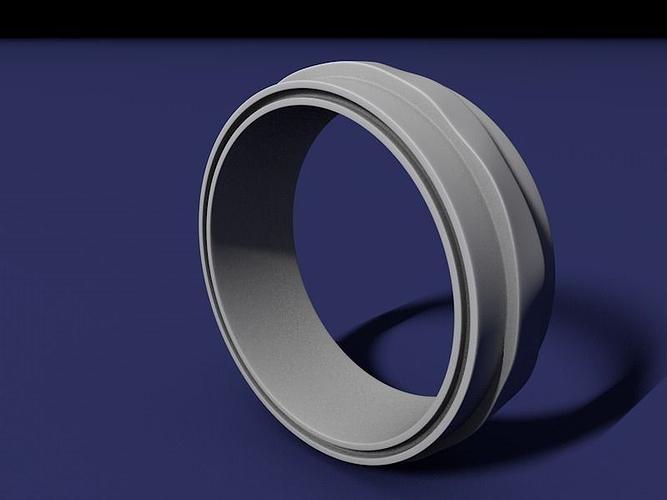 Curvy ring