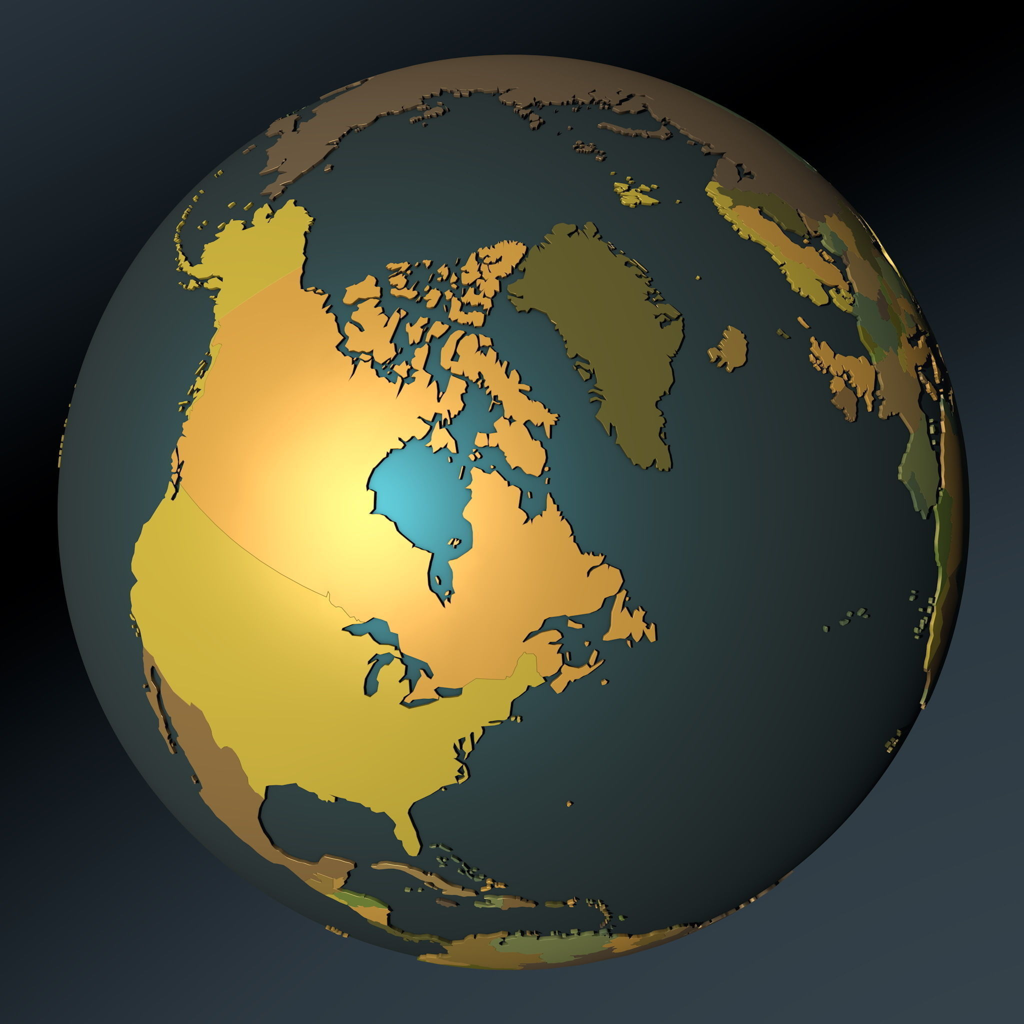 3d model political map earth globe with countries political map earth globe with countries 3d model obj fbx c4d mtl 4 gumiabroncs Choice Image
