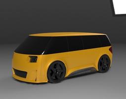 F1 van 3D Model