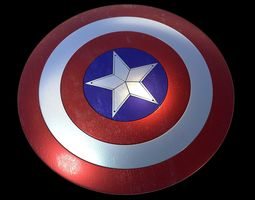 3D print model Captain America Shield