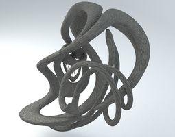 Sci-Fi Shapes - The Swirl 3D model