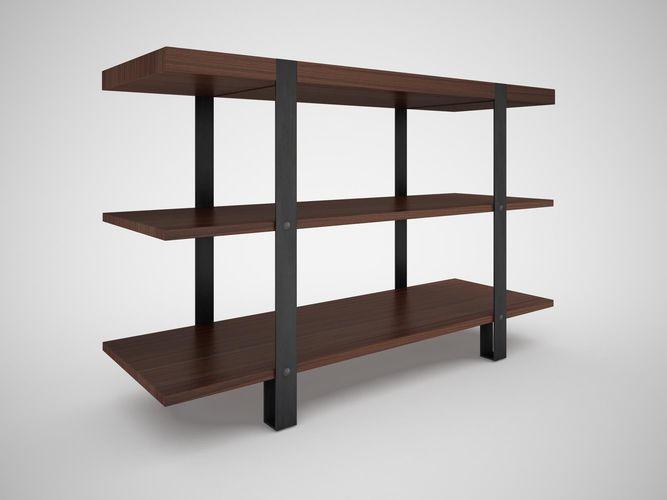 Steel Pipe Bookshelf #UN05 – Advancedmassagebysara