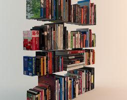 188 Realistic Books 3D model