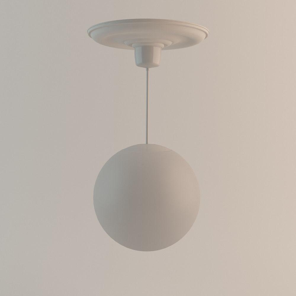 new style ac1b9 6b82a 1940s Roof Lamp | 3D model