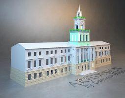 Administration building 3D print model